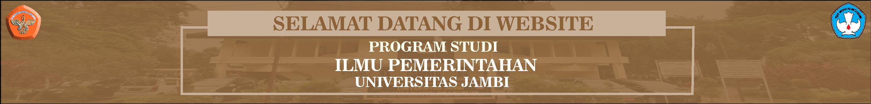 Mata Kuliah Program Studi Ilmu Pemerintahan